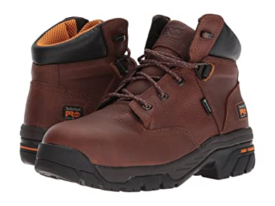 Timberland PRO Helix 6 Alloy Toe (Brown Full-Grain Leather) Men
