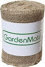 GardenMate® Jute-Wickelstreifen 25m x 15cm - Jutegewebe Juteband 200gsm