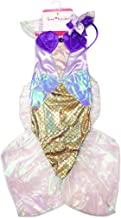 Creative Education Great Pretenders Mermaid Dress, Blue/Lilac, One Size Dress-Up Play