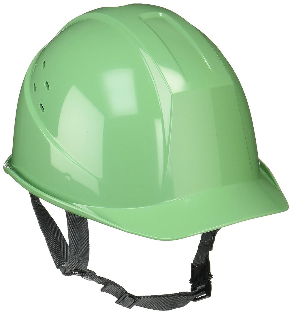 独立して天文学デジタルミドリ安全 ヘルメット 一般作業用 通気孔付 SC11BV RA KP付 モスグリーン