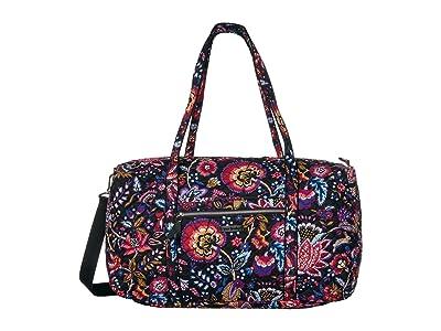 Vera Bradley Lay Flat Travel Duffel (Foxwood) Bags