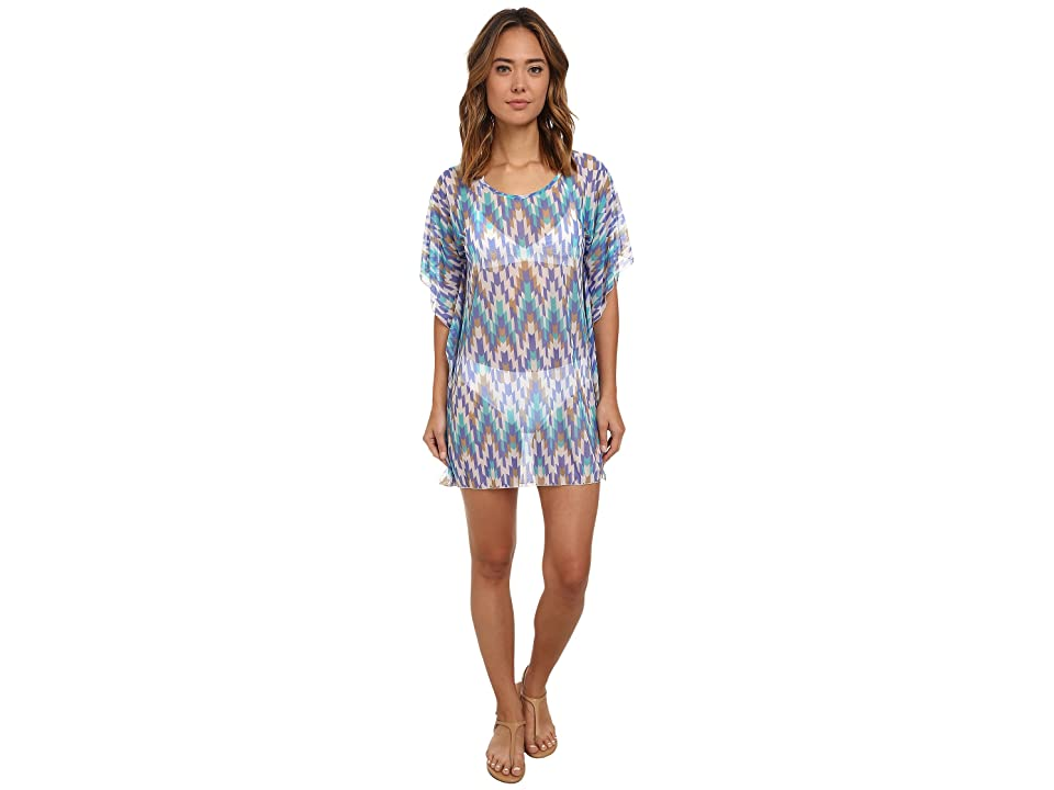 Athena Desert Escape Tunic Cover-Up (Multi) Women