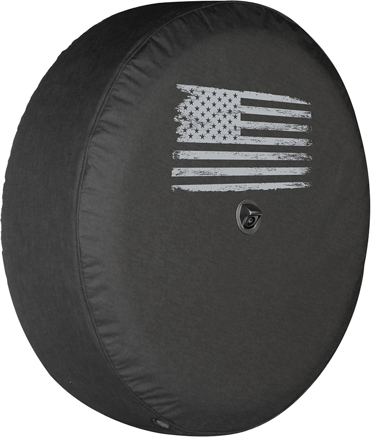 Boomerang - Distressed American Flag Soft JL Milwaukee Mall Tire Je for Cover At the price
