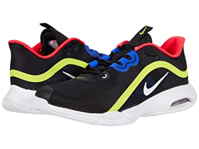 Nike Air Max Volley (Black/White/Volt/Laser Crimson) Men