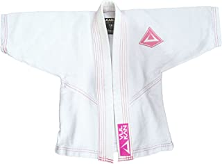 Fight Company Brazilian Jiu Jitsu, Limited Edition Baby Girl & Boy BJJ GI, White with Pink or Blue