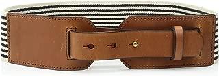 Women's Webbing/Leather Waist Belt