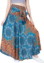 LOFBAZ Women's Long Bohemian Maxi Skirt Hippie Gypsy Boho Dress