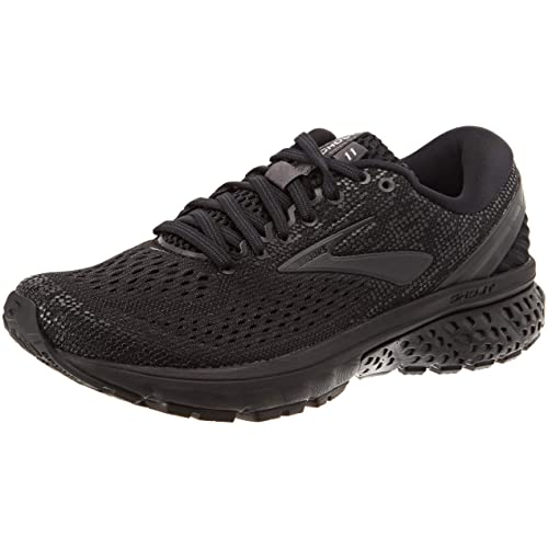 Brooks Womens Ghost 11 Black/Ebony 8 ...