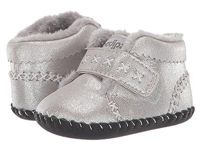 pediped Rosa Original (Infant) (Silver Shimmer) Girl
