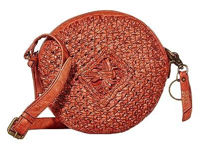 FRYE AND CO. Esme Tambourine Crossbody (Paprika) Handbags