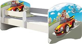 CHILDREN TODDLER KIDS BED FREE MATTRESS 140x70  03 Racing Car