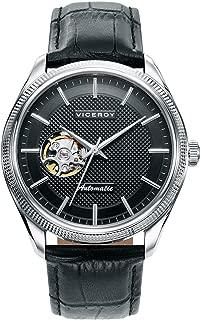 Reloj Analogico para Hombre de Automático con Correa en Cuero 401071-57