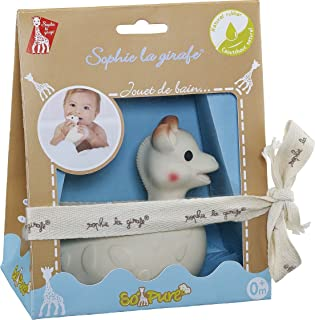 Sophie the giraffe Bath Toy, Brown/ White