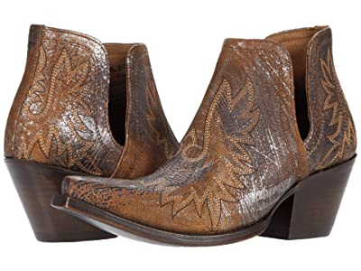 Ariat Dixon (Brushed Silver) Cowboy Boots