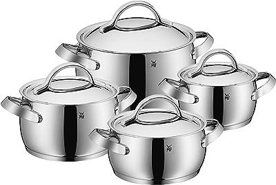 WMF Concento 8 Pc Cookware Set, Silver