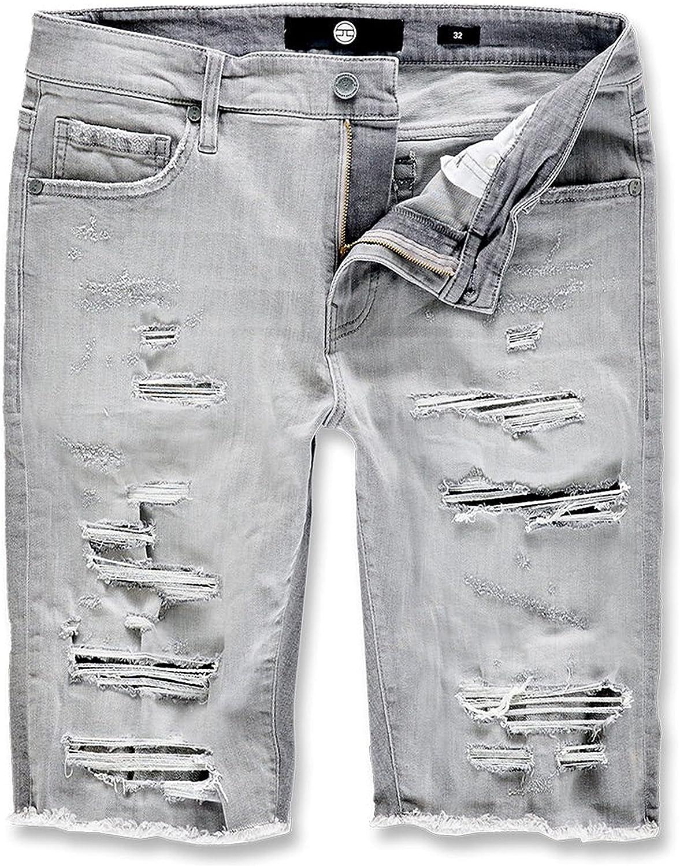Jordan Craig Abyss Denim Shorts Cement Wash