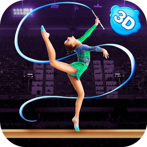Gymnastics Elite Sports Superstar Simulator 3D – Championship Event For Girls