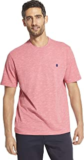 IZOD Men's Saltwater Short Sleeve Solid Slub T-Shirt