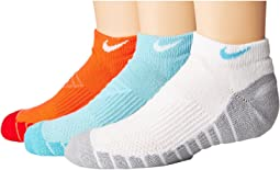 Nike Kids - Dry Cushion No Show Socks 3-Pair Pack (Toddler/Little Kid/Big Kid)
