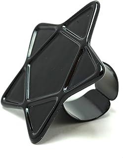 ネイル パレット リング スター 星 ブラック