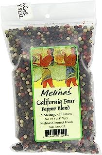 Melina's Peppercorns, California 4 Pepper Blend, 6 Ounce