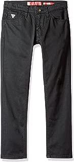 Guess Big Boys' 5 Pocket Regular Fit Stretch Twill Jeans