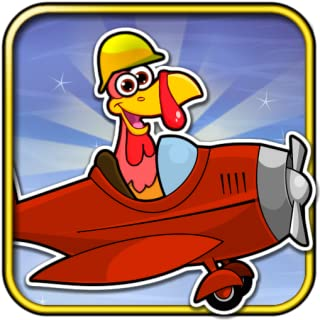 Crazy Turkey Run and Fun - Free Christmas game for kids & adults