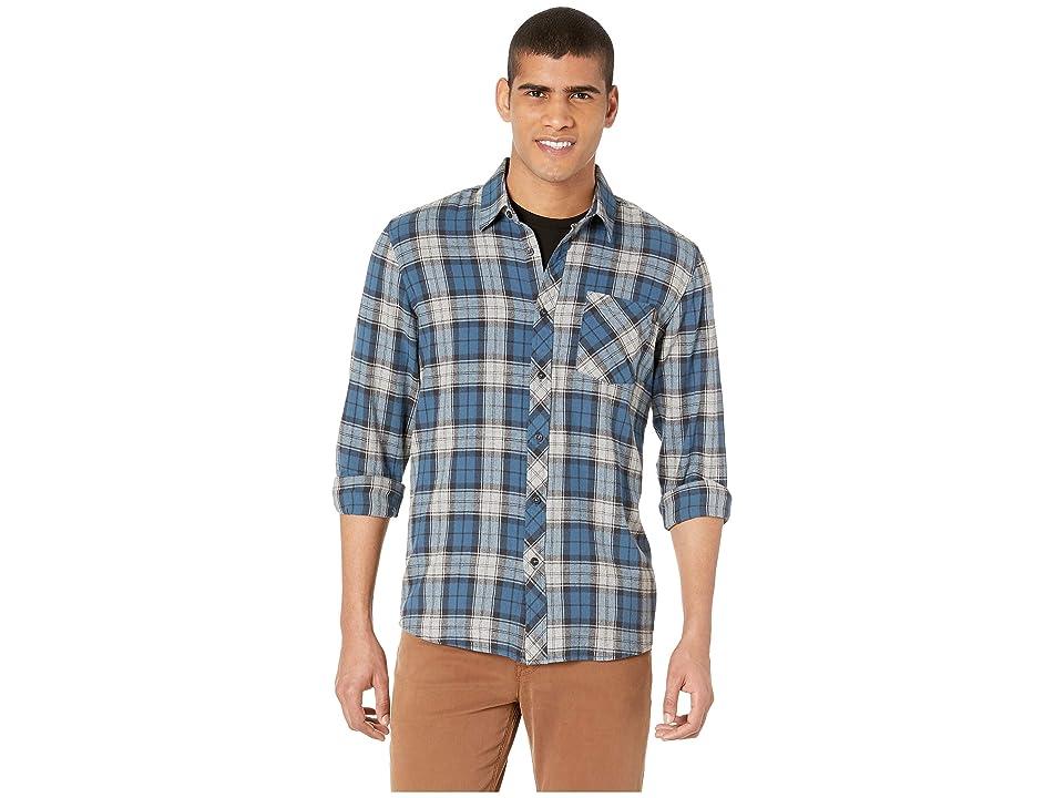 Rip Curl Holmes Flannel Shirt (Blue) Men