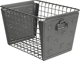 Spectrum Diversified Macklin Paws Medium Basket, Gray