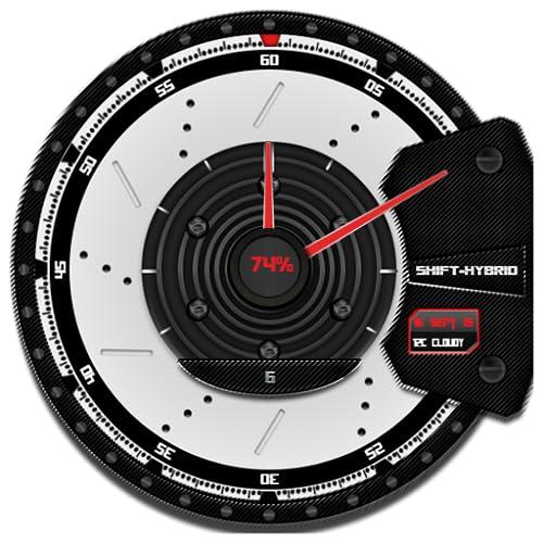 Shift-Hybrid wear wmwatch face