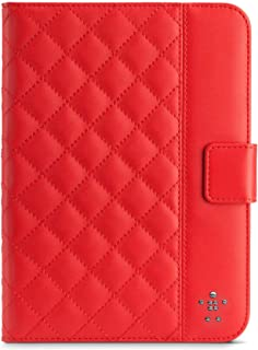 Belkin Quilted Cover with Stand for iPad Mini (Ruby)