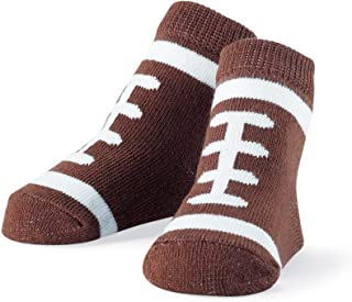 Mud Pie Newborn Baby-Boys Football Socks