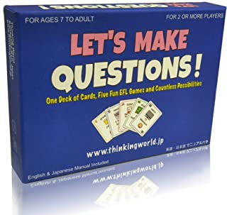 Thinking World 英会話 カード ゲーム Let's Make Questions! 4589677570017