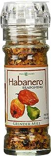 Dean Jacob's Habanero Seasoning Glass Grinder Mill ~ 2.2 oz.