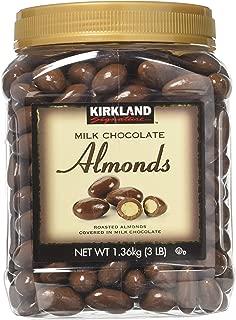 Kirkland Signature Milk Chocolate Almonds 2 Pack JAR