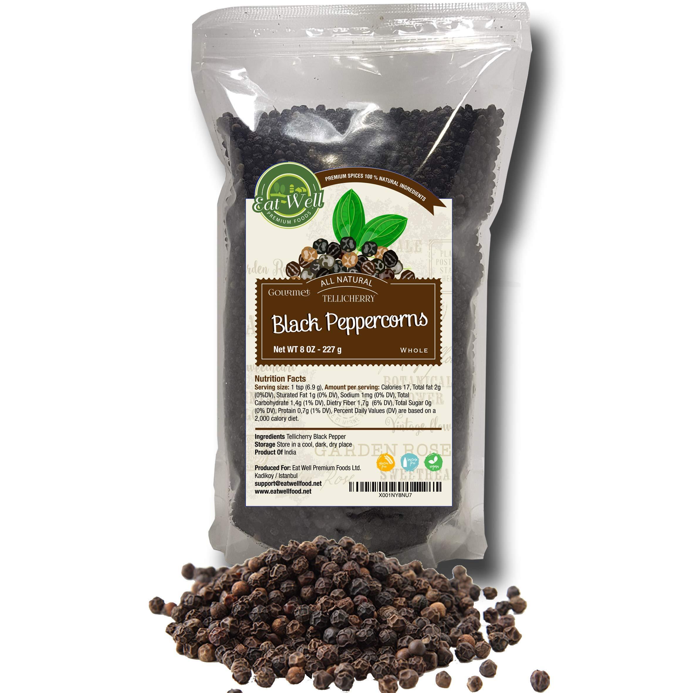 1 LB 100/% Natural Black Pepper Whole Peppercorns for Grinder Refill 16 oz