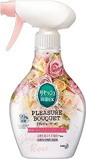リセッシュ 除菌EX プレジャーブーケ 消臭芳香剤 液体 朝露にぬれるガーデンローズの香り 本体 370ml