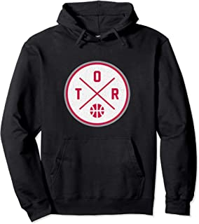 Classic Toronto Basketball TOR Outline Pullover Hoodie
