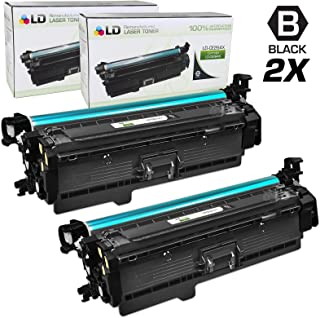 LD Remanufactured Toner Cartridge Replacement for HP 646X CE264X High Yield (Black, 2-Pack)