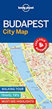 Lonely Planet Budapest City Map