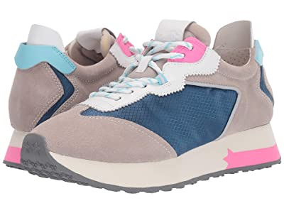 ASH Tiger (Dove/White/Light Grey) Women