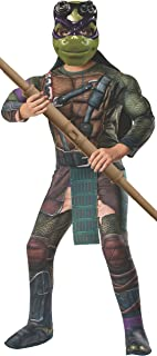 Rubie's Rubies Teenage Mutant Ninja Turtles Deluxe Muscle-Chest Donatello Costume, Medium