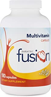Bariatric Fusion Bariatric Multivitamin Capsules Without Iron for Post Bariatric Surgery Patients Including Gastric Bypass...