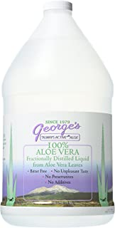George's Aloe Vera Liquid Supplement, 128 oz