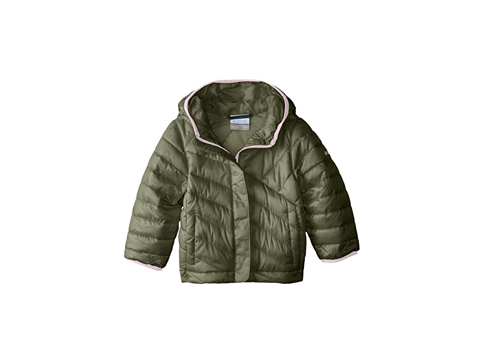 Columbia Kids Powder Litetm Puffer (Little Kids/Big Kids) (Cypress/Cupid) Girl