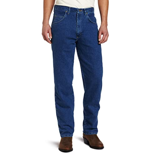 3ff32976 Wrangler Men's Rugged-Wear Relaxed-Fit Stretch Flex Denim Jean