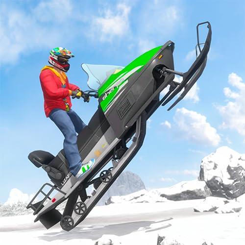 Snow Bike Stunts Rider: Real ATV Driving Challenge