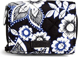 Women's Signature Cotton RFID Card Case Wallet