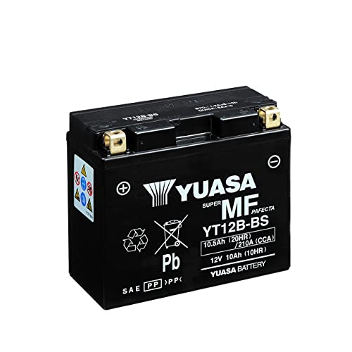YUASA BATERIA YT12B-BS AGM abierto - con paquete de ácido