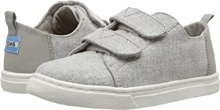 TOMS Kids Unisex Lenny (Infant/Toddler/Little Kid) Drizzle Grey Slub Chambray